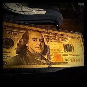 24k 100 bill
